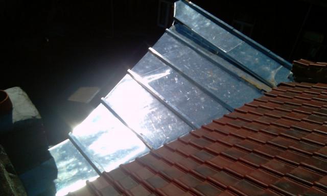 Terrasse tasseau en zinc naturel Roubaix (59)